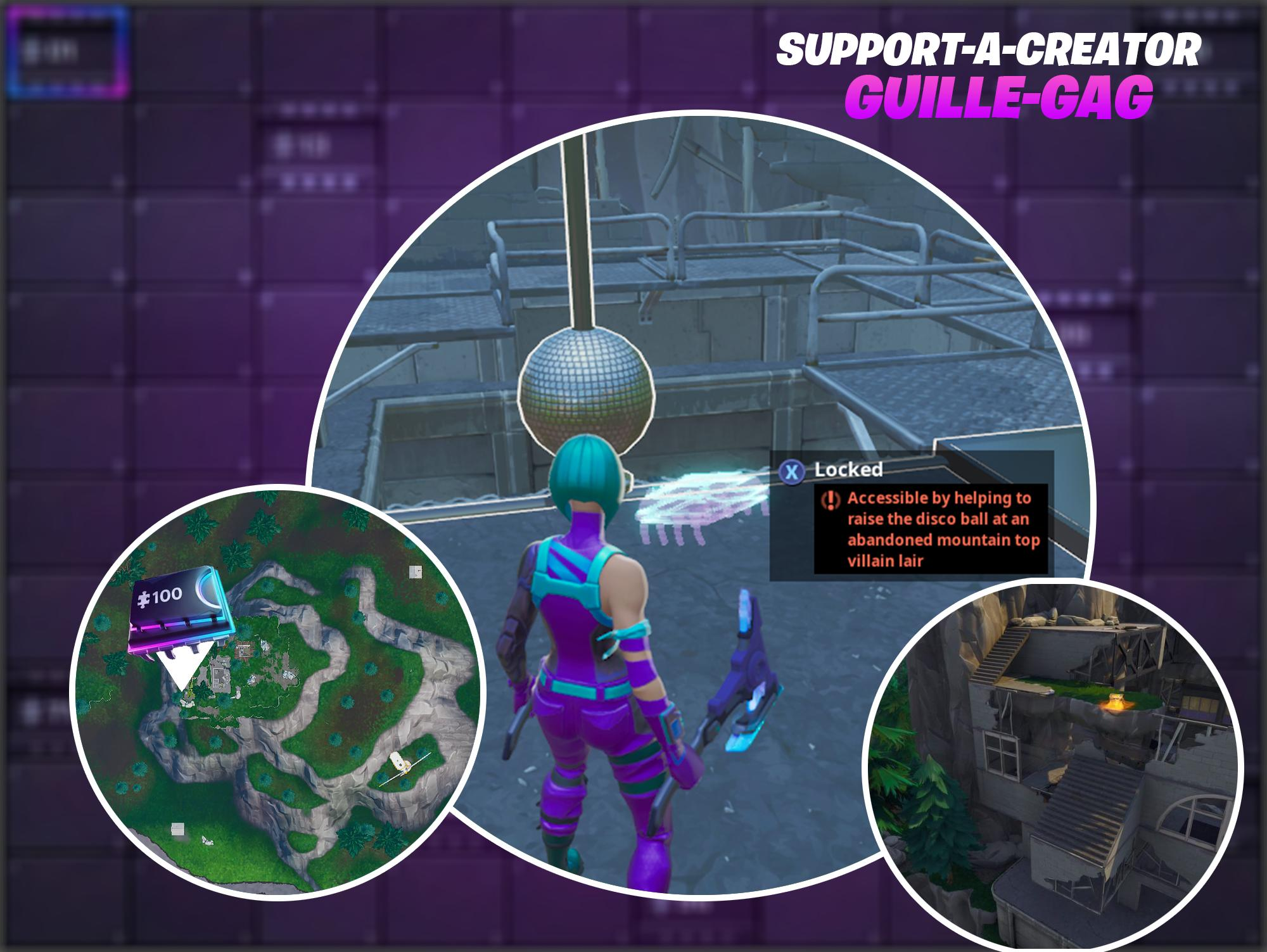 GUIDE: How to find Fortbyte #97 hidden within a loading screen