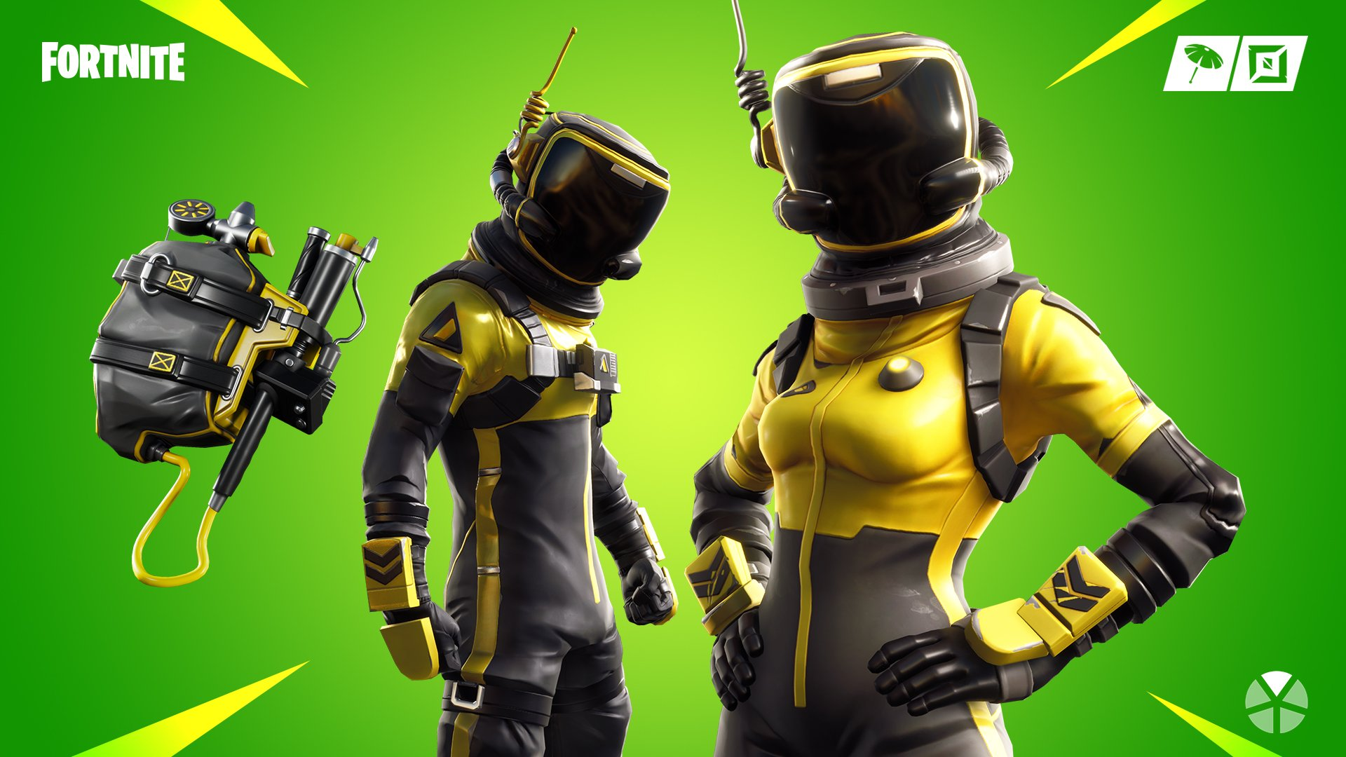 Fortnite Hazard Agent and Toxic Trooper New Skin Styles