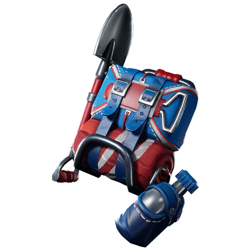 Fortnite Leaked v9.30 Back Bling - Color Guard