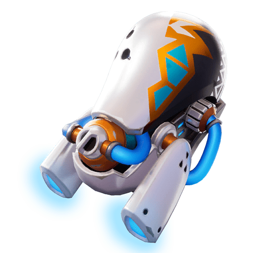 Fortnite Leaked v9.30 Back Bling - Glow Jet