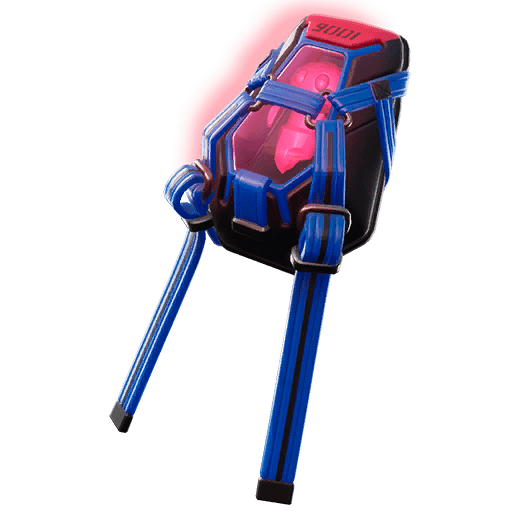 Fortnite Leaked v9.30 Back Bling - Lumi Core Red