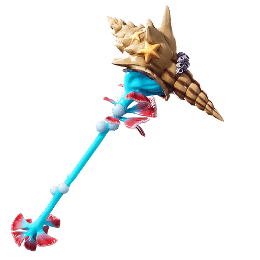 Fortnite Leaked v9.30 Pickaxe - Conch Cleaver