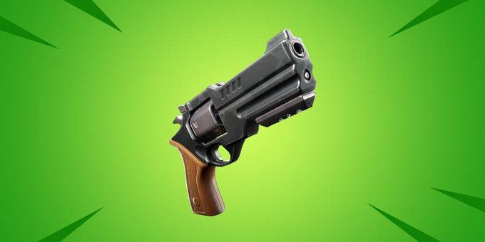 Fortnite New Weapon - Revolver