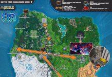 Fortnite Season 9 Week 7 Challenges Cheat Sheet Map