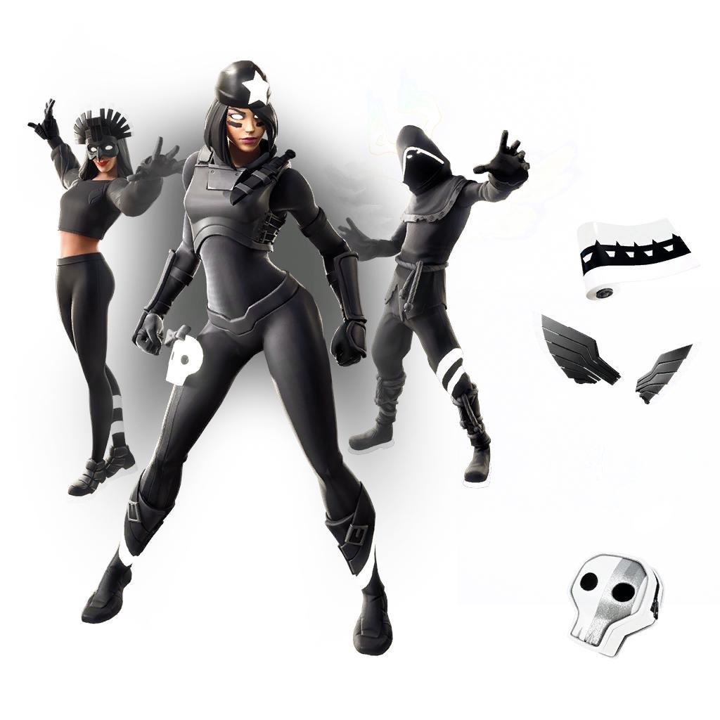 Fortnite Shadow Legends Pack Leaked