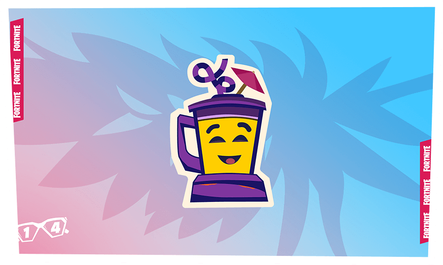 Fortnite Smoothie Emoji Day 4 Reward