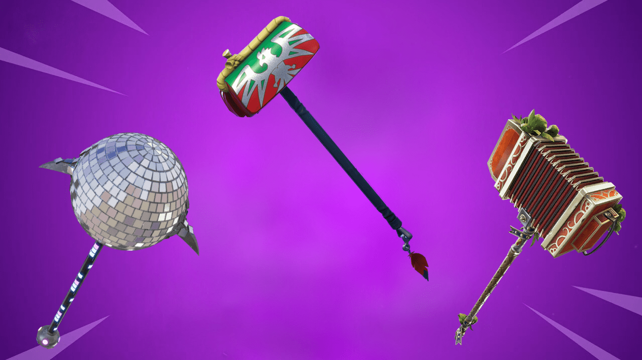Here Are The 10 Rarest Item Shop Pickaxes In Fortnite Fortnite Insider