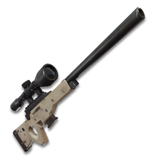 Fortnite Weapon - Bolt Action Sniper Rifle