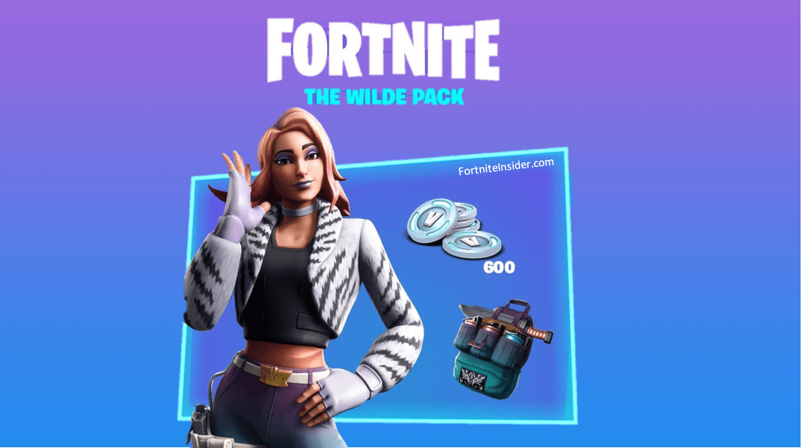 Fortnite Wilde Starter Pack