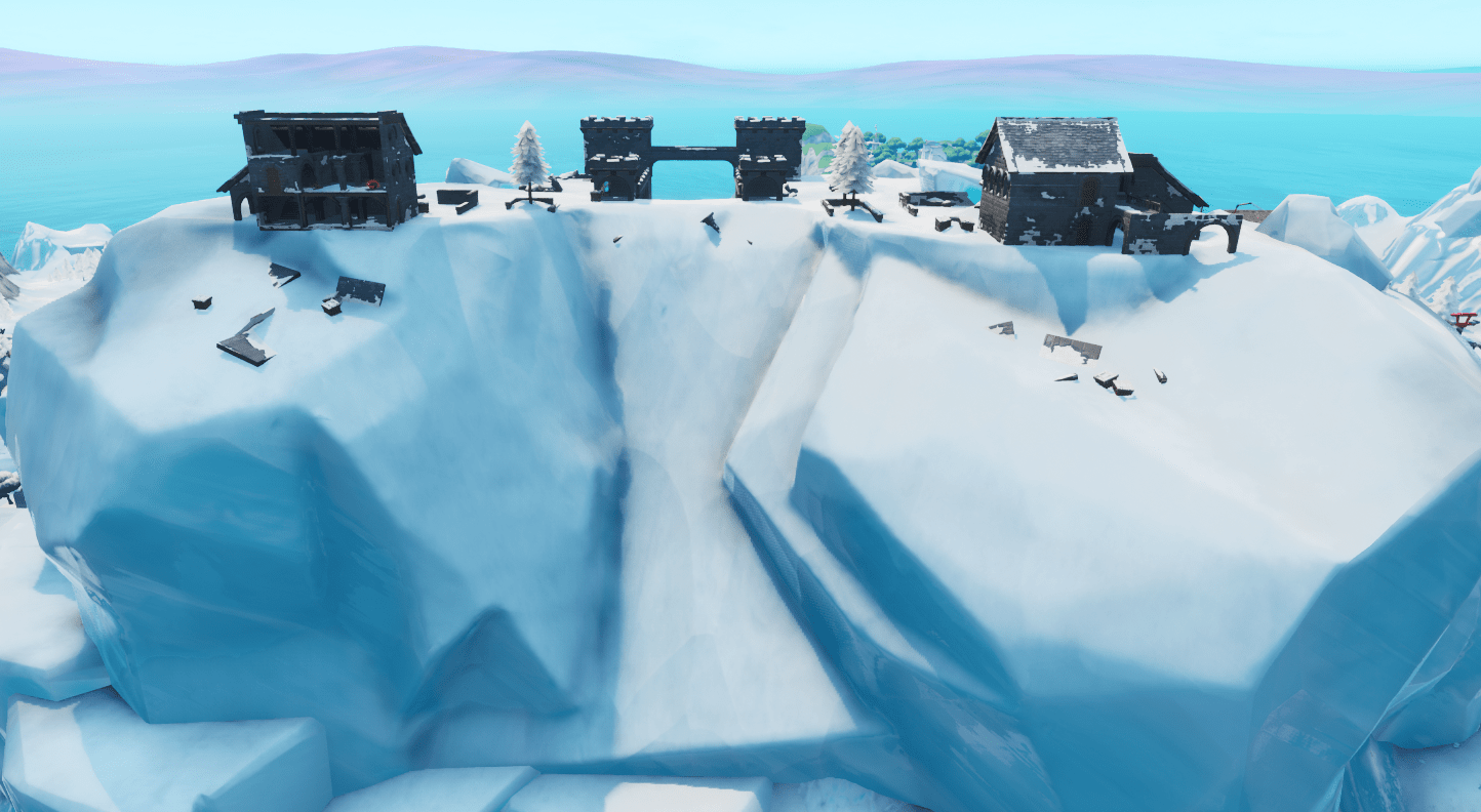 Fortnite v9.20 Map Changes - Polar Peak