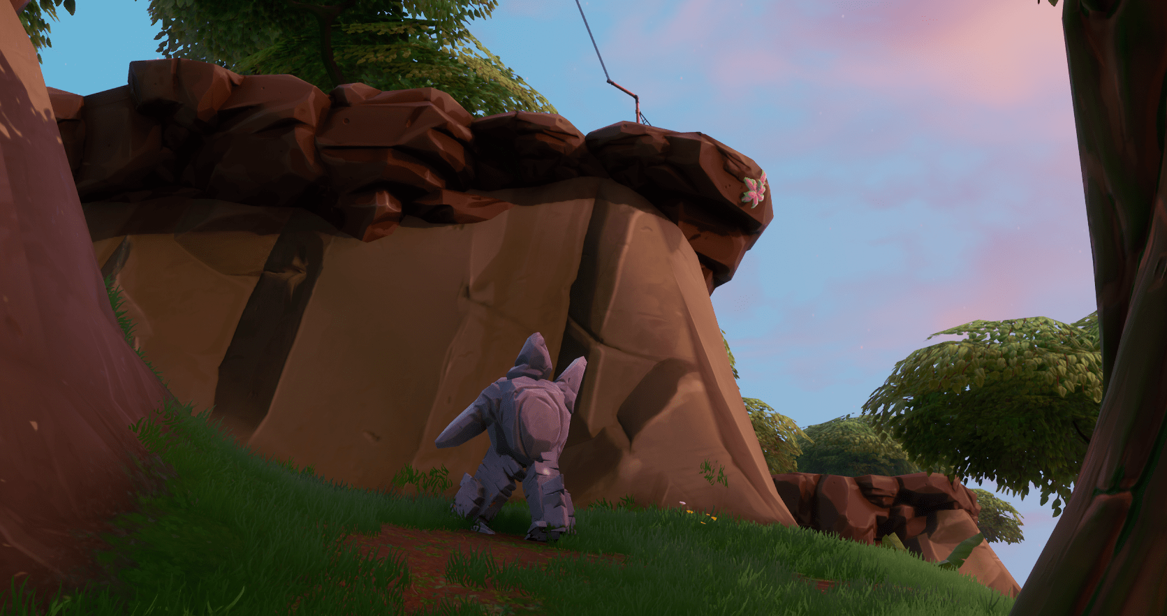 Fortnite v9.30 Content Update Map Changes - Stone Child