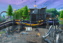 Fortnite v9.30 Map Changes - Loot Lake Destruction