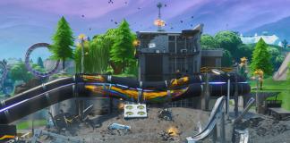 Fortnite v9.30 Map Changes - Loot Lake Destruction