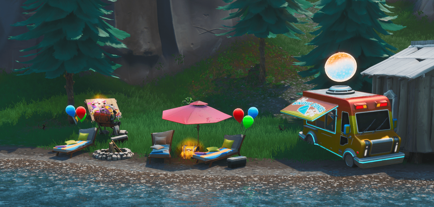 Fortnite v9.30 Map Changes - Summer Themed Locations
