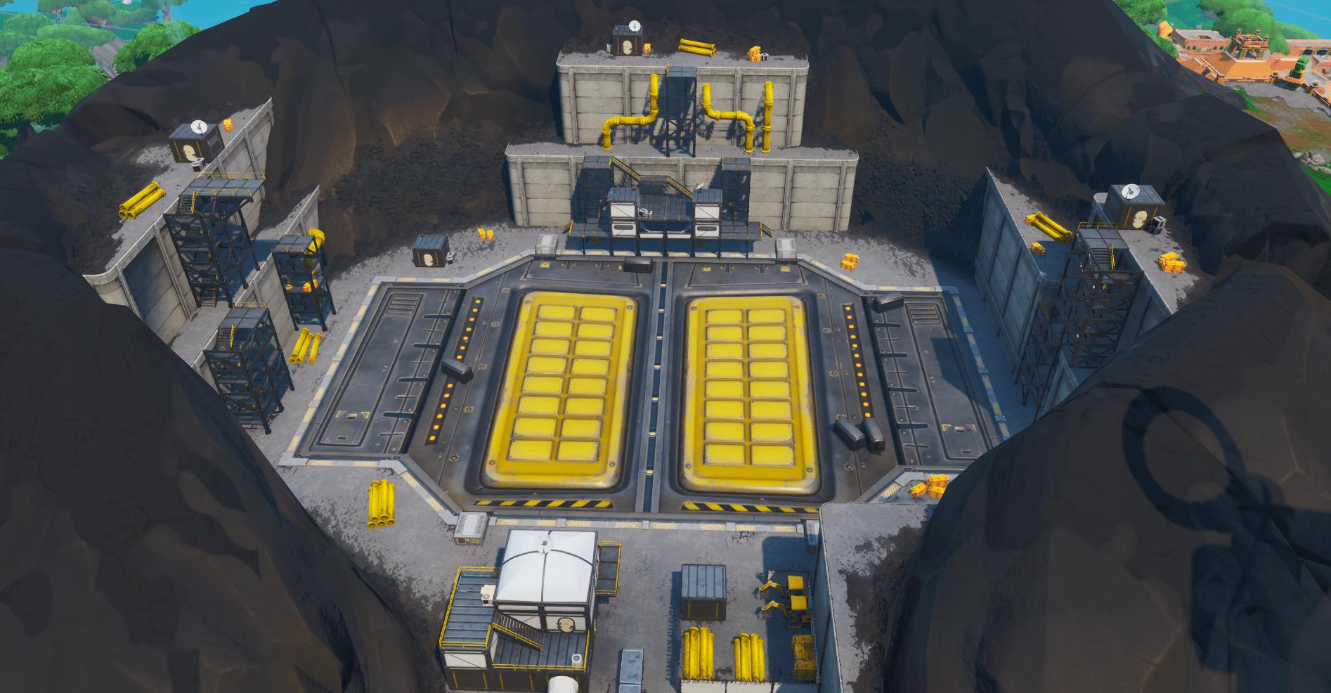 Fortnite v9.30 Pressure Plant Map Changes