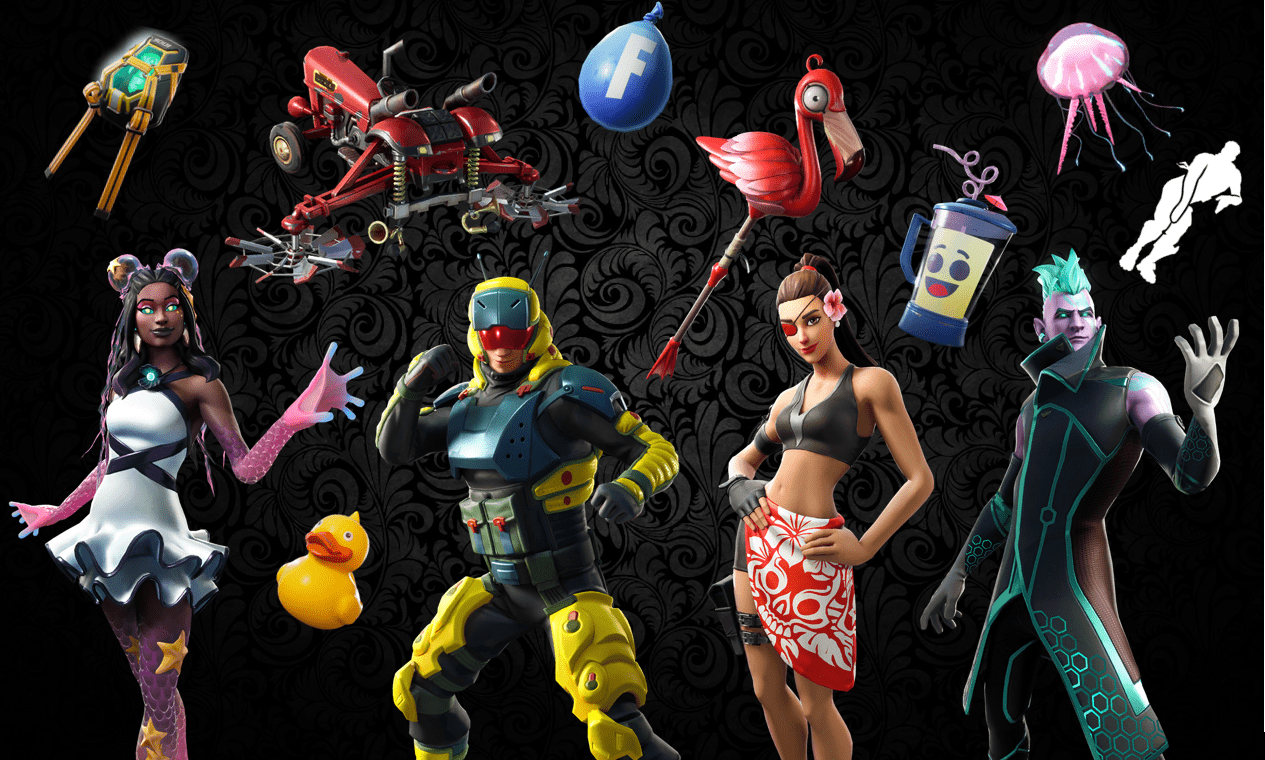 Names And Rarities Of All V9 30 Fortnite Item Shop Leaked Skins