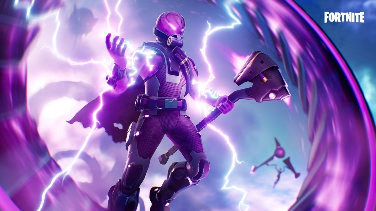 Raging Storm Set fortnite Skin