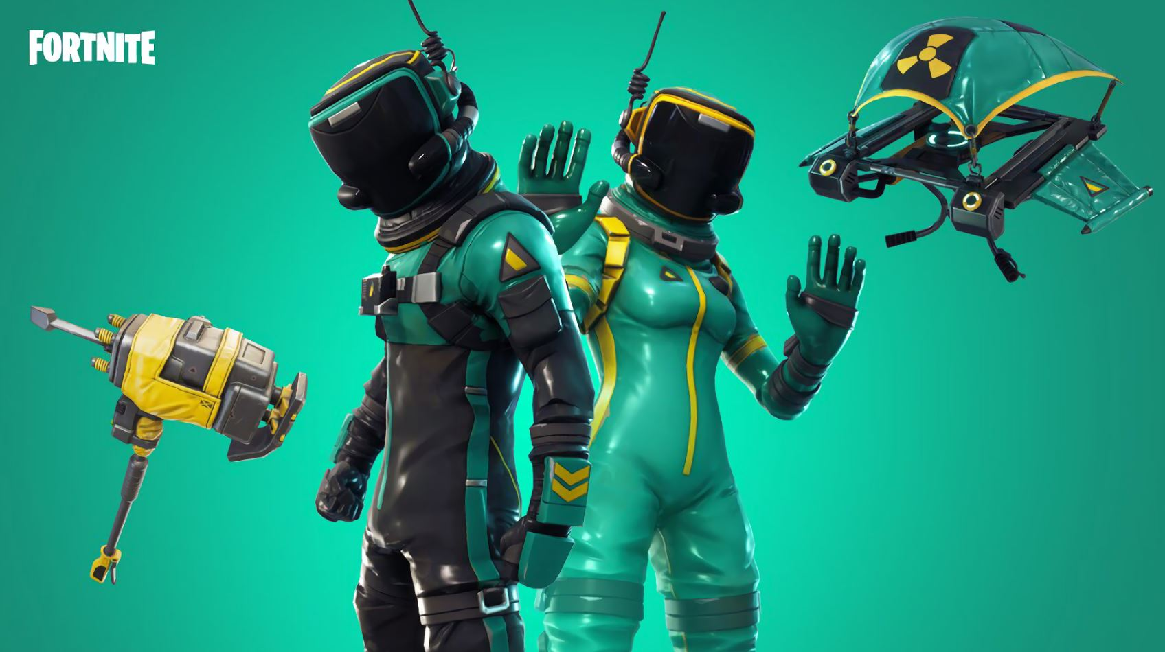 Toxic Trooper and Hazard Agent new styles