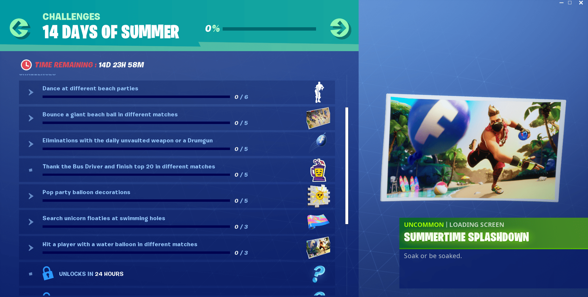 Fortnite's summer event brings 14 days of unvaulted weapons and LTMs