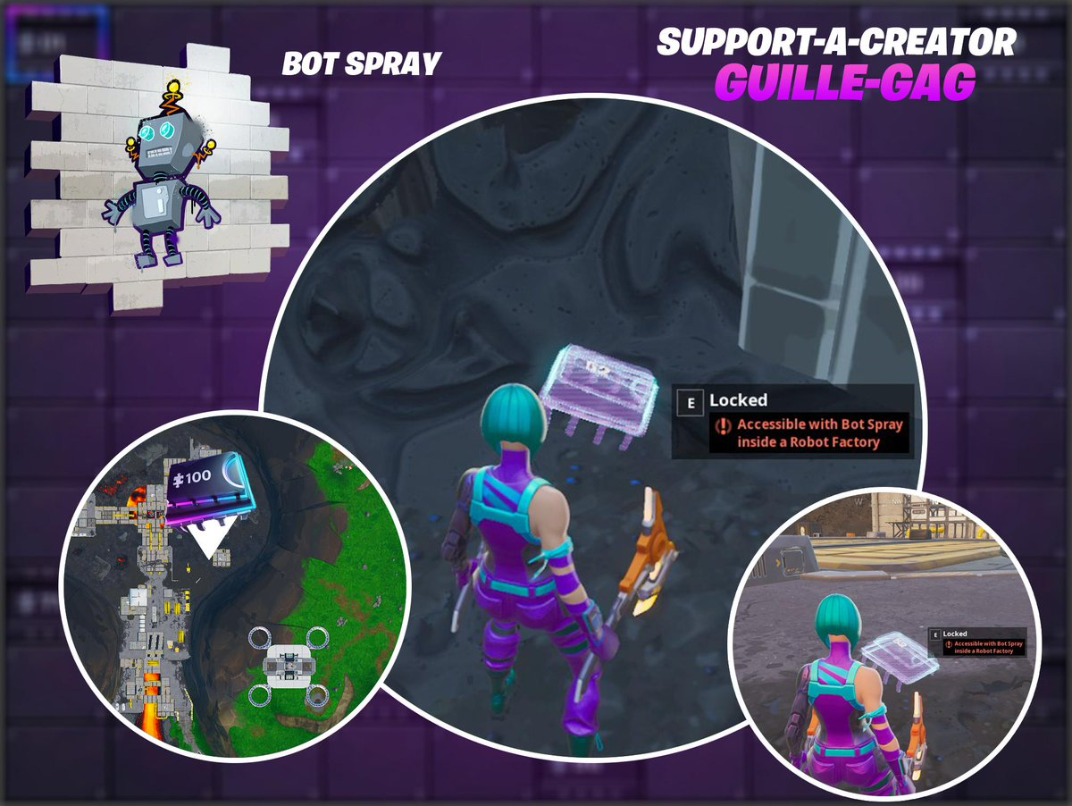 New Fortnite Season 9 Fortbyte 52 Location: Accessible ...