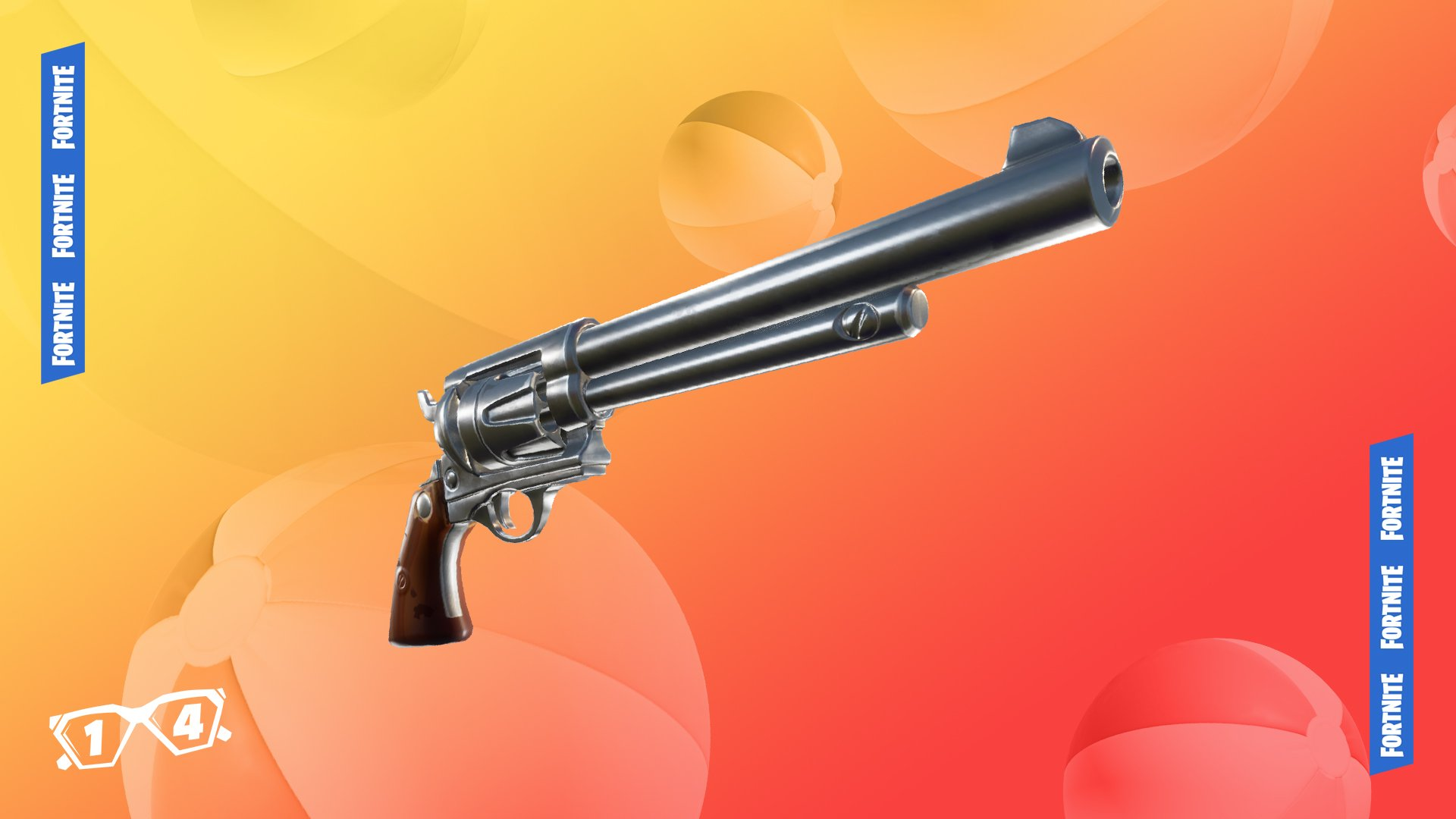 Fortnite 14 Days of Summer Day 9 - Six Shooter Unvaulted