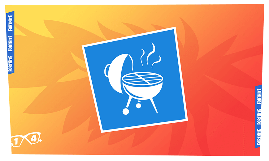 Fortnite 14 Days of Summer Event Day 14 Reward - BBQ Banner