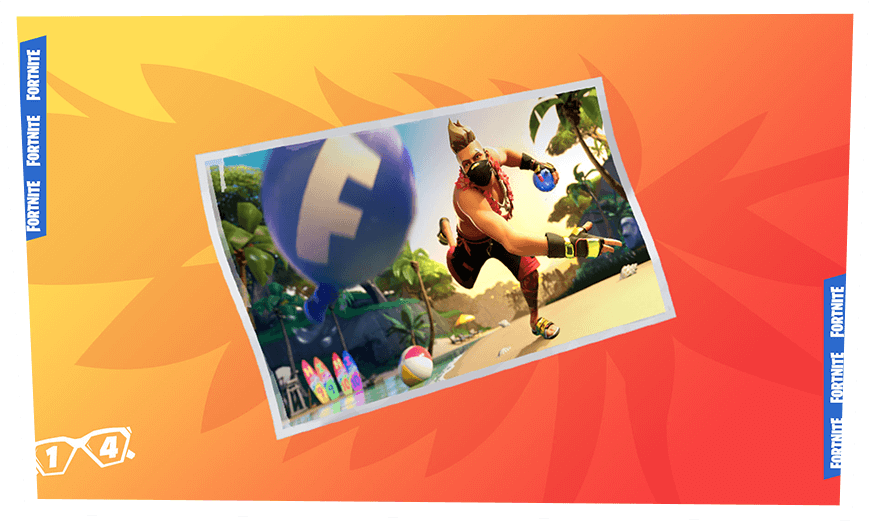 Fortnite 14 Days of Summer Event Day 7 Reward - Water Balloon Loading Screen