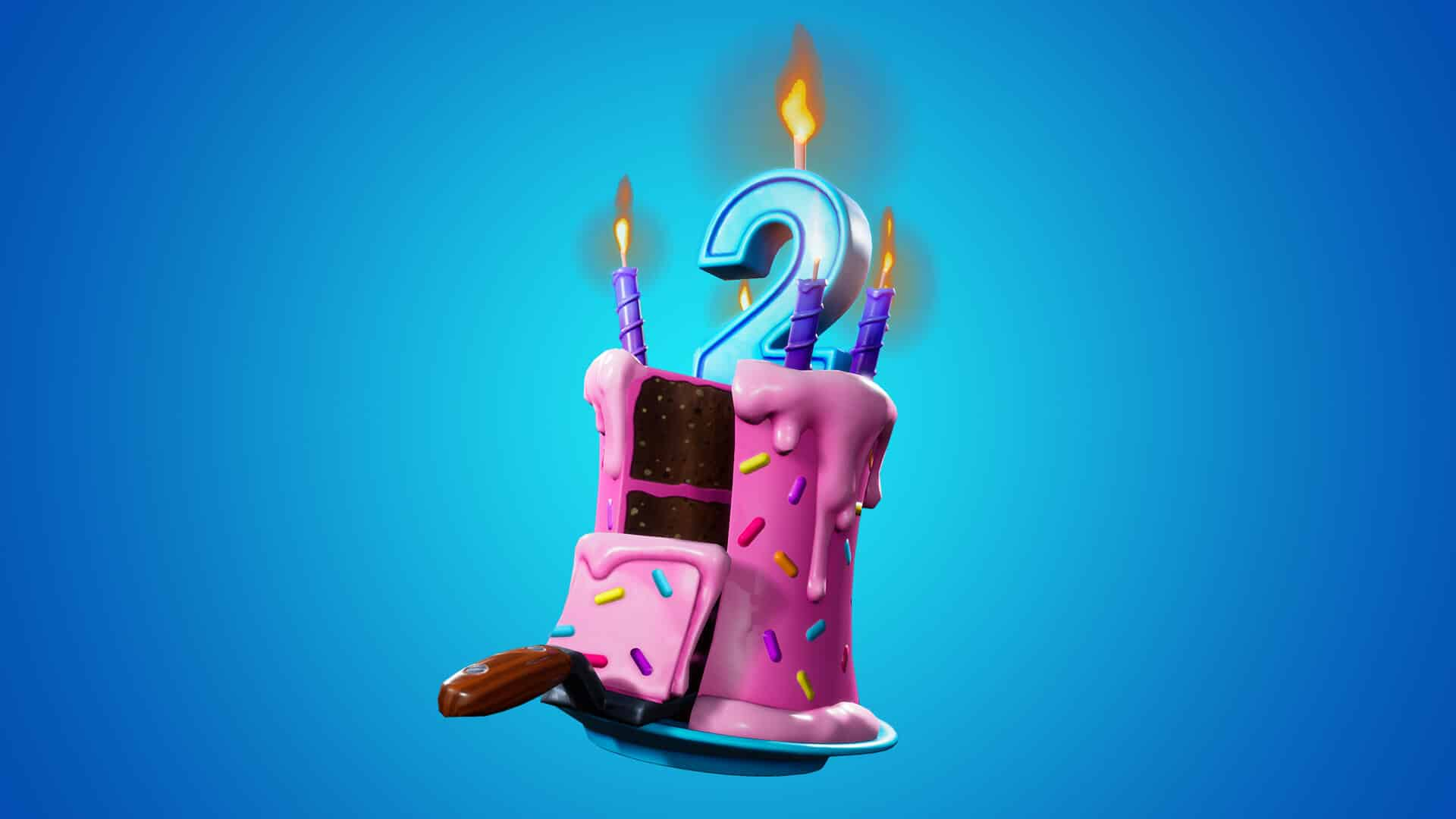 Fortnite 2nd Birthday Cake