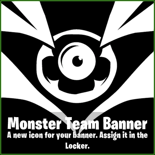 Fortnite Banner Leaked - Monster Team Banner