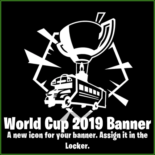 Fortnite Banner Leaked - World Cup 2019 Banner