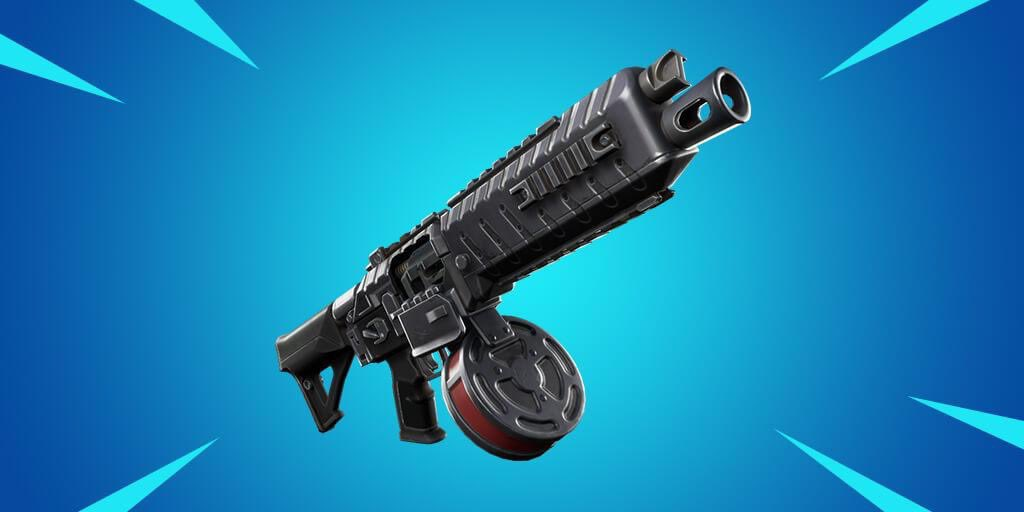 Fortnite's Drum Shotgun Added In v9.30 Content Update