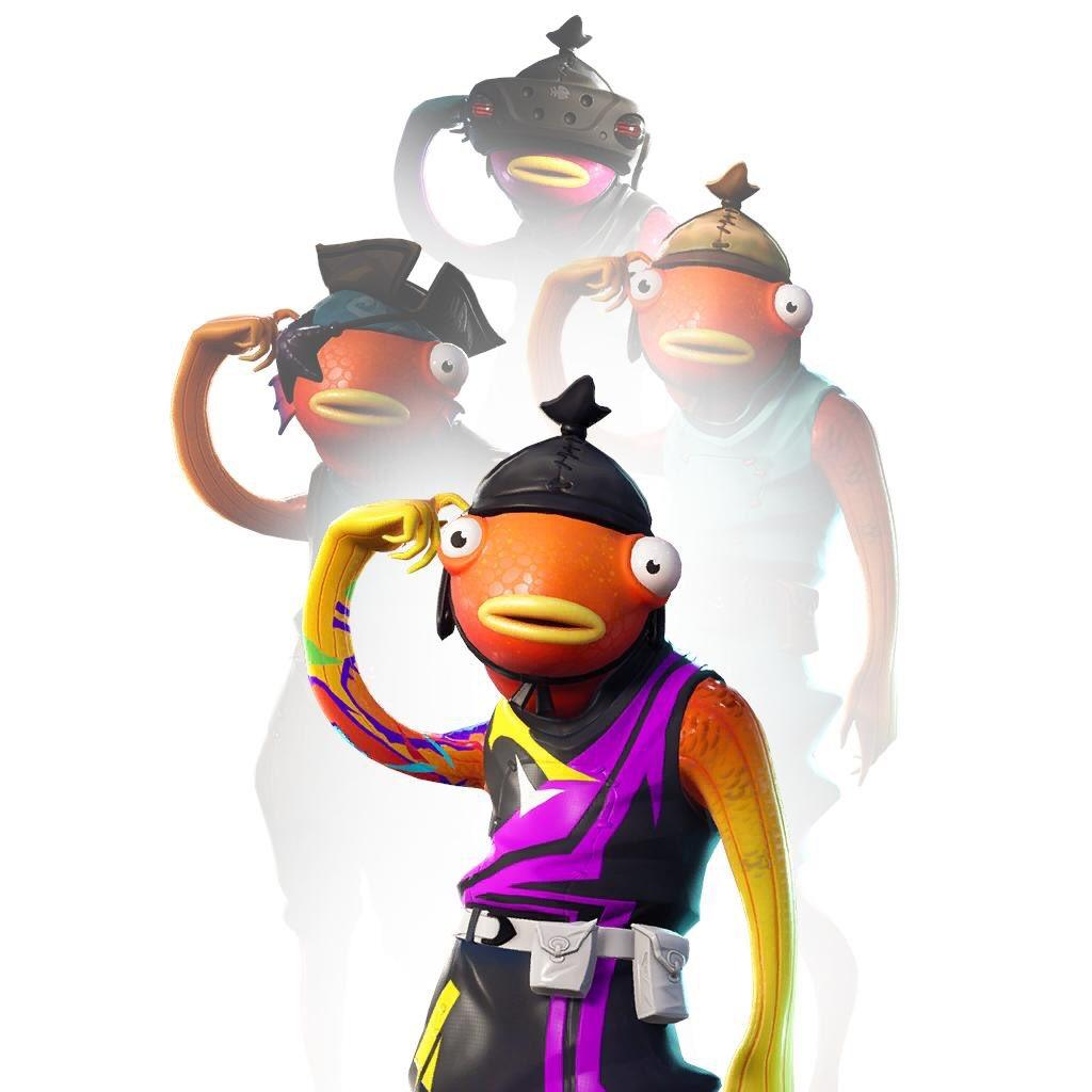 Fortnite Fishstick Variant styles