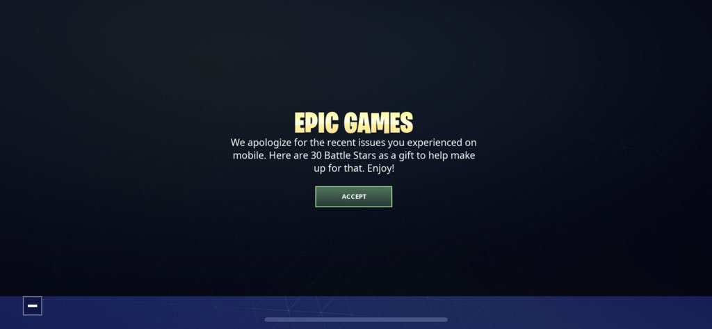 Fortnite Mobile Users Are Now Being Compensated in Battle