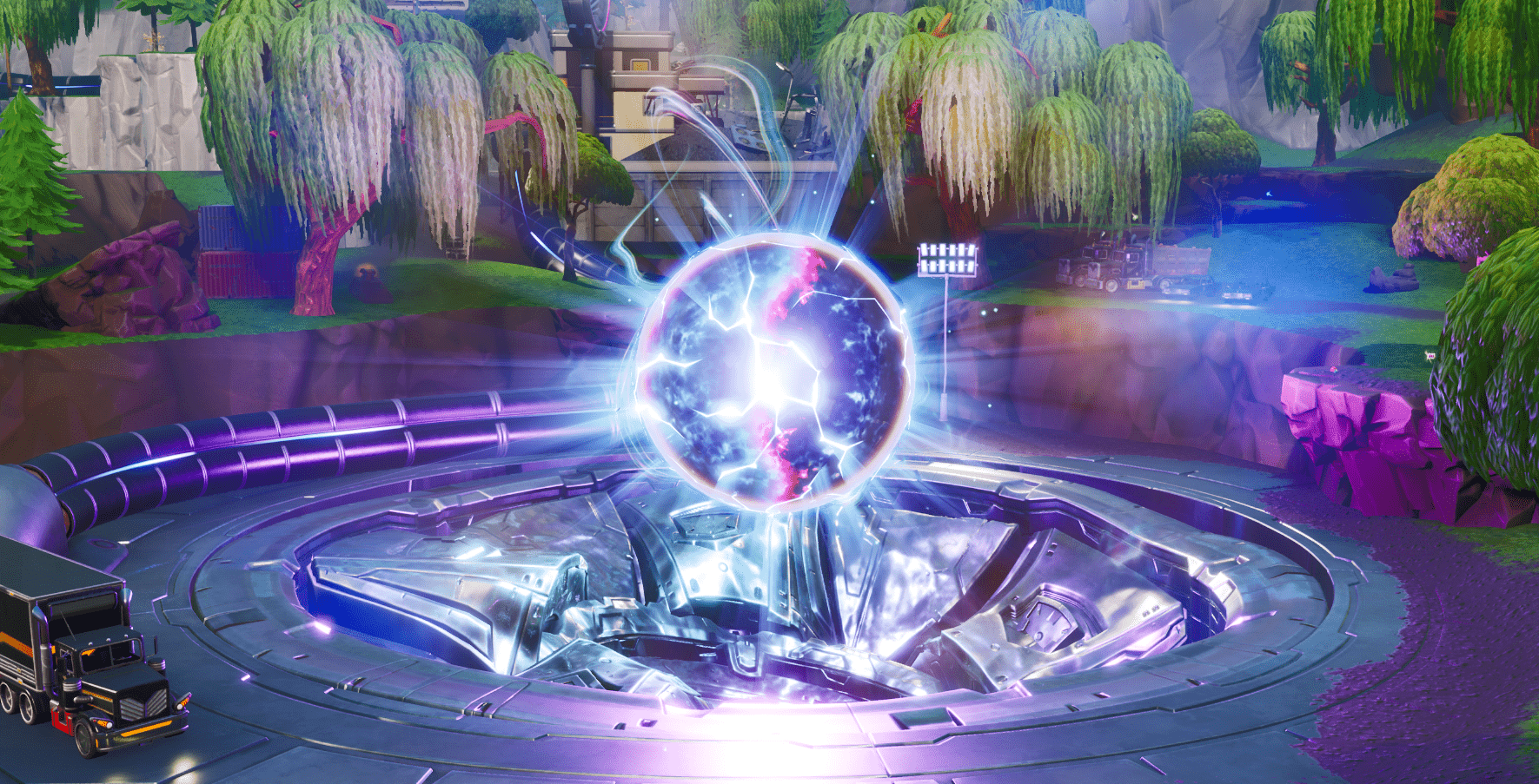 Fortnite Zero Point Orb Is Now In Stage 3 Leading Up To Season 10 Fortnite Insider The orb was first seen in fortnite in the final showdown event where we saw the. fortnite zero point orb is now in stage