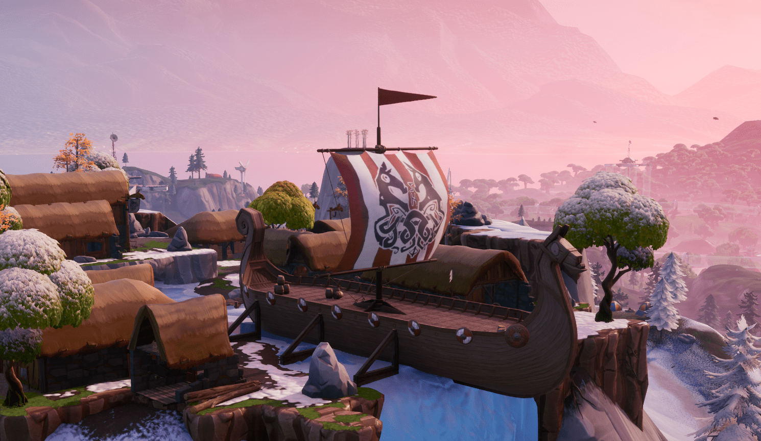 Fortnite Pirate Ship