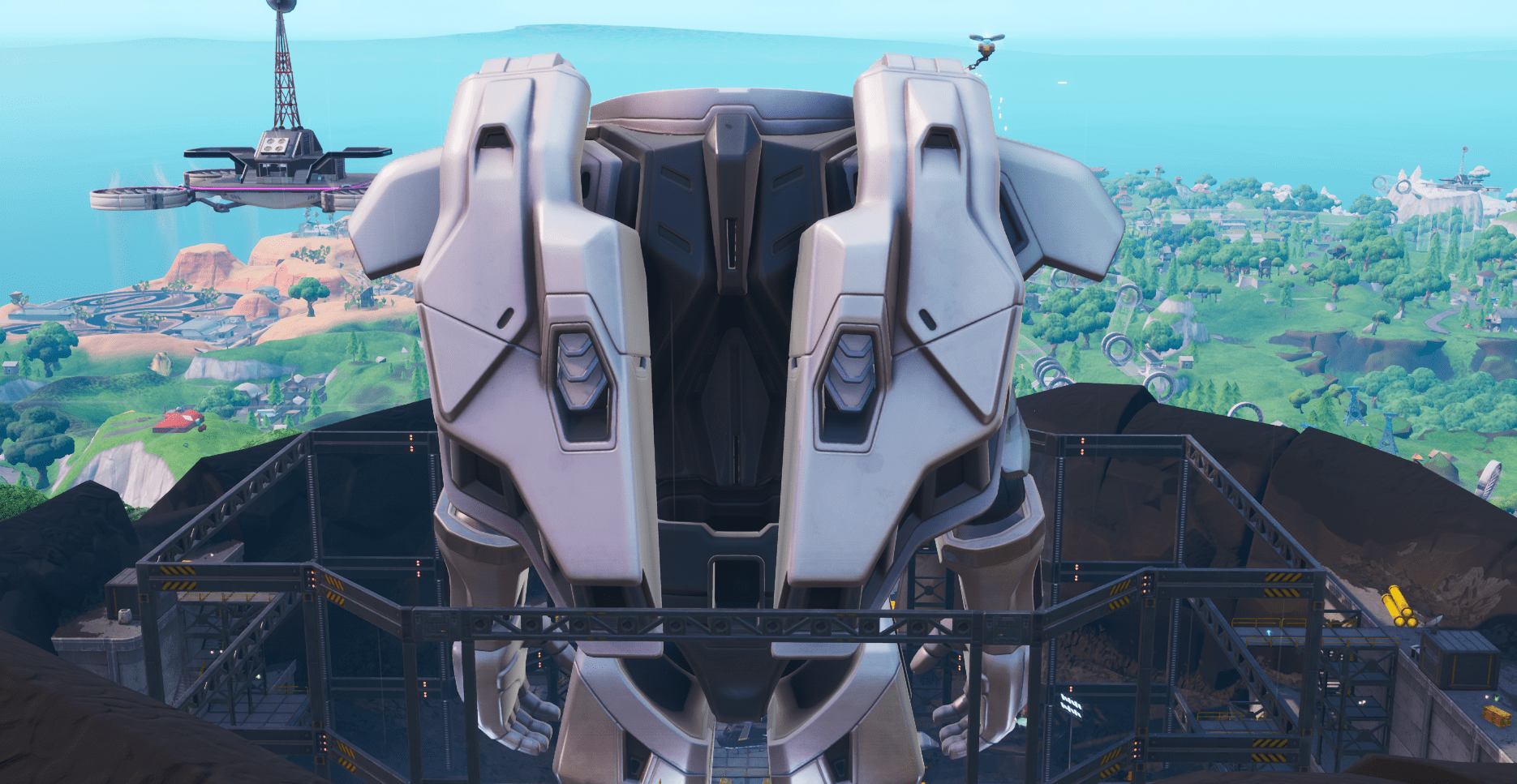 Fortnite Robot Back Plates Jetpack