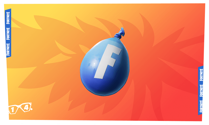 Fortnite Water Balloon Toy Reward