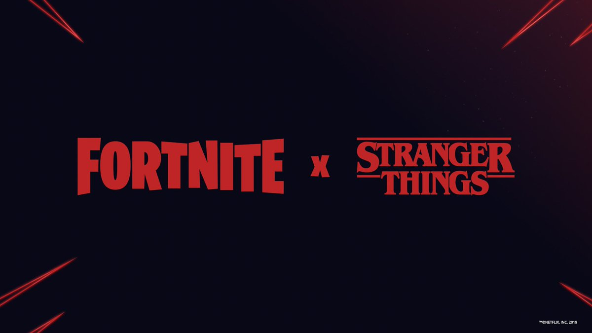 Fortnite X Stranger Things Collaboration Teaser Image