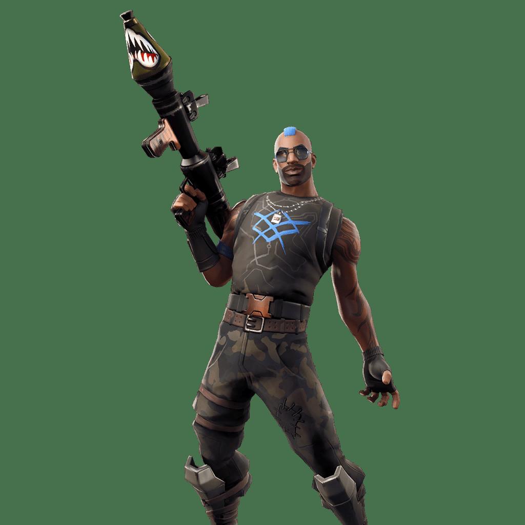 Fortnite v9.40 Leaked Skin - Aanrchy Agent