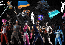 Fortnite v9.40 Leaked Skins, Back Blings, Pickaxes, Emotes, Wraps Names and Rarities