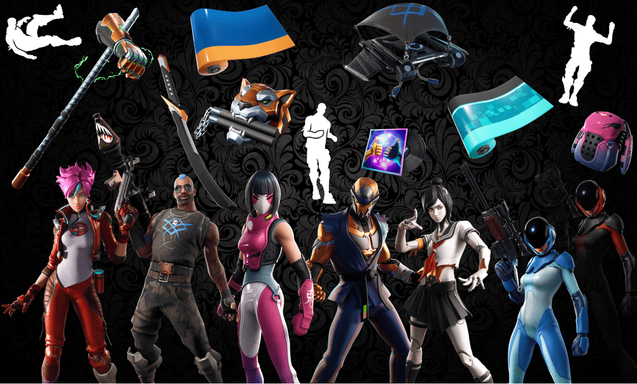Names and Rarities of All v9 40 Fortnite Item Shop Leaked