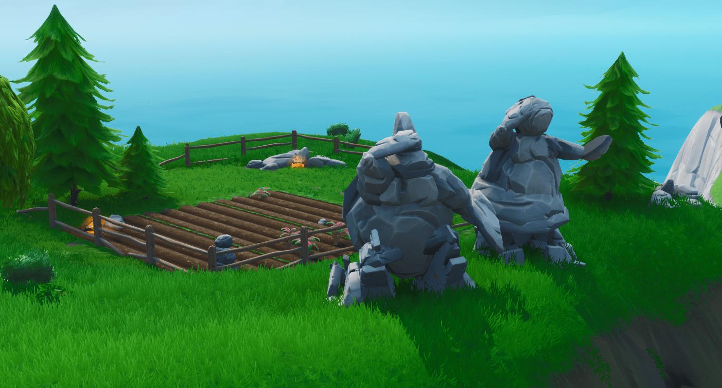 Fortnite v9.40 Map Changes - Mr & Mrs Stone