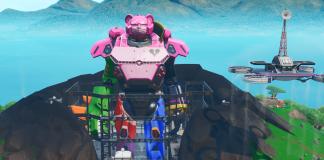 Fortnite v9.40 Map Changes - Robot Completed