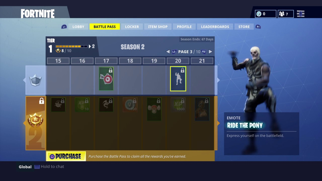 New Free Fortnite Pony Up! Emote for Ride the Pony owners in Season