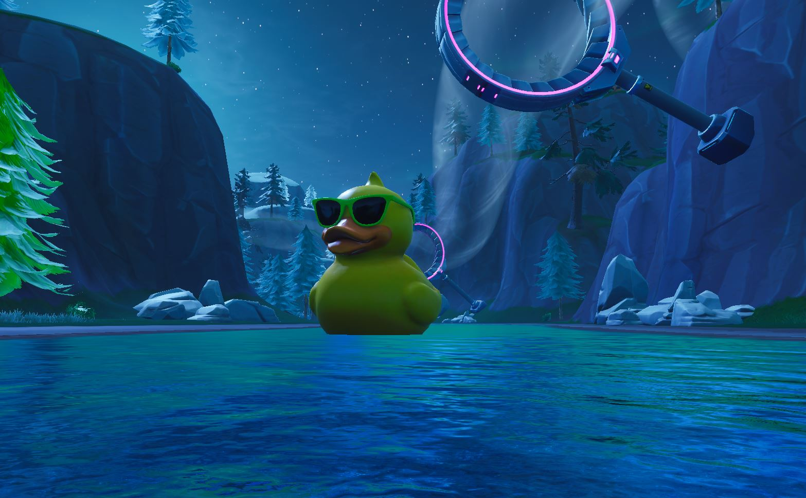 huge rubber ducky Fortnite
