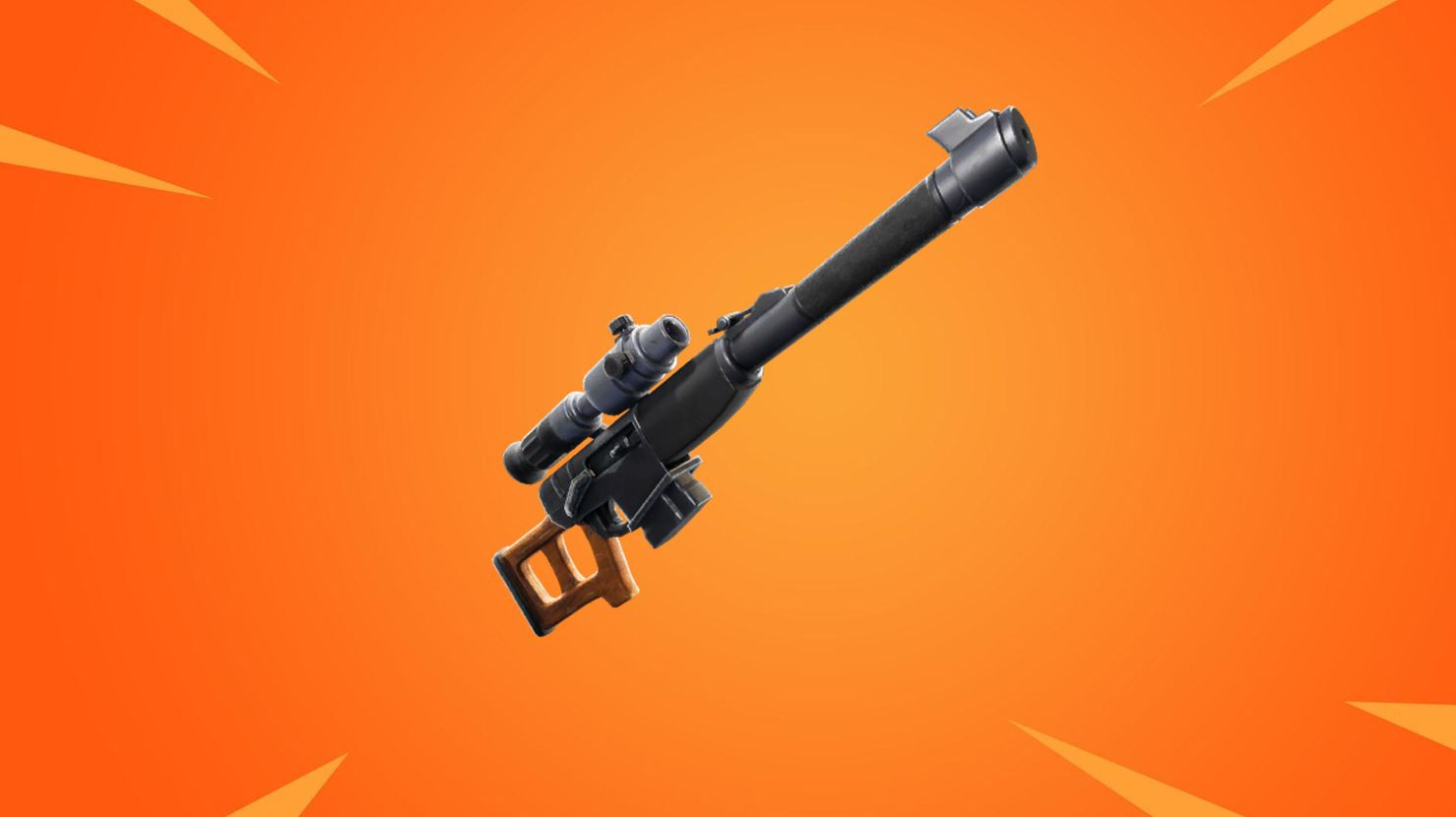 Fortnite Automatic Sniper rifle