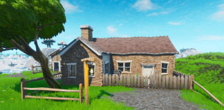 Fortnite Challenge Hilltop house full of carbide and omega posters location