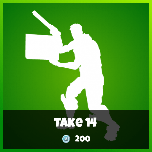 Fortnite Emote - Take 14
