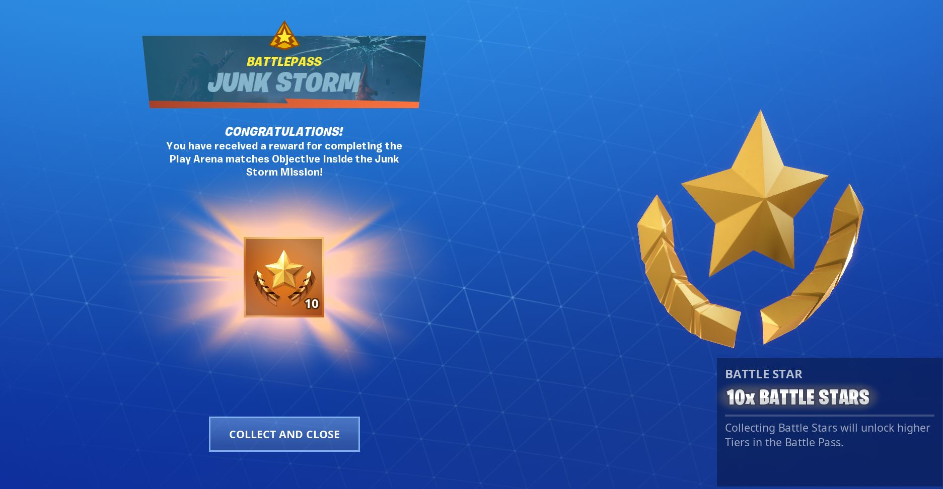 Fortnite Junk Rift Play Arena Matches Objective
