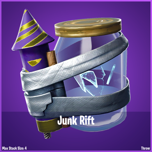Fortnite Leaked Junk Rift Consumable